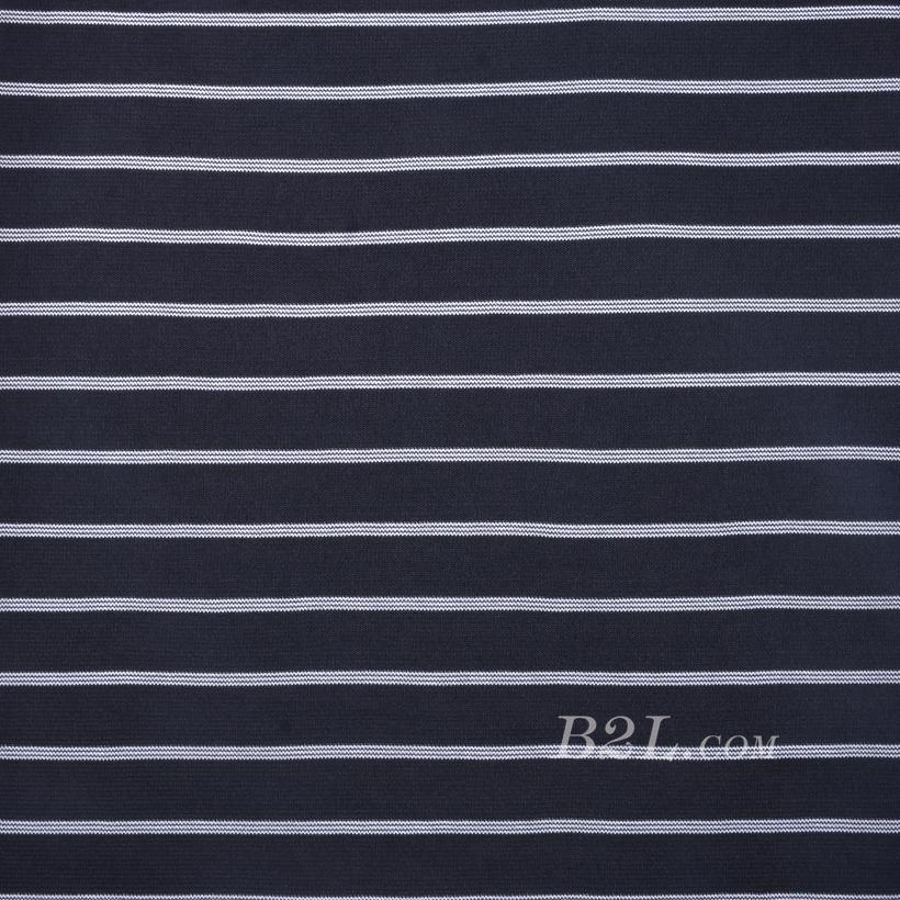 条子 横条 圆机 针织 纬编 T恤 针织衫 连衣裙 弹力 60312-6