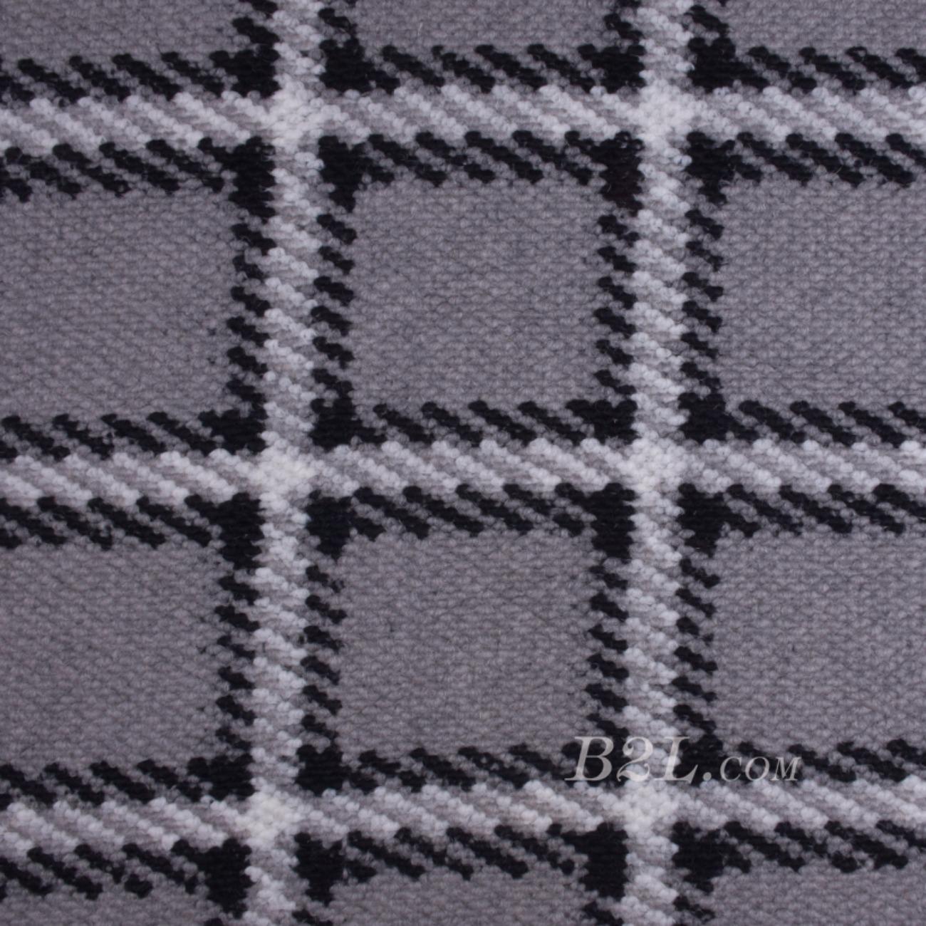 毛纺 格子 粗纺 提花 色织 绒感 无弹 秋冬 大衣 外套 女装 80720-12