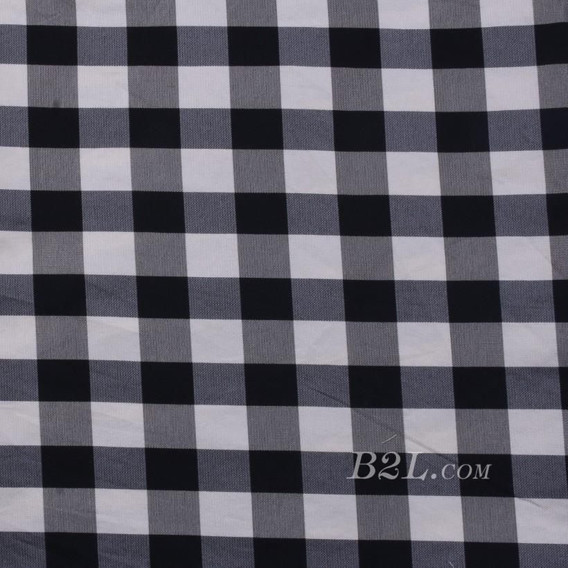 格子 棉感 色织 平纹 外套 衬衫 上衣 薄 70622-177