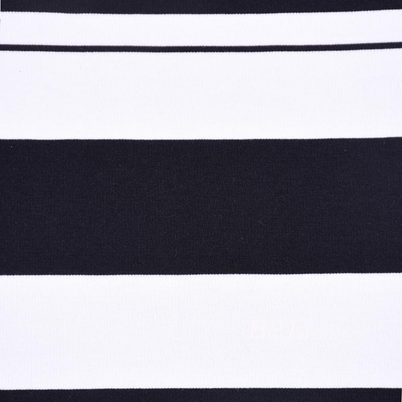 楼梯布 坑条 条子 横条 圆机 针织 纬编 T恤 针织衫 连衣裙 定位 棉感柔软 60311-11