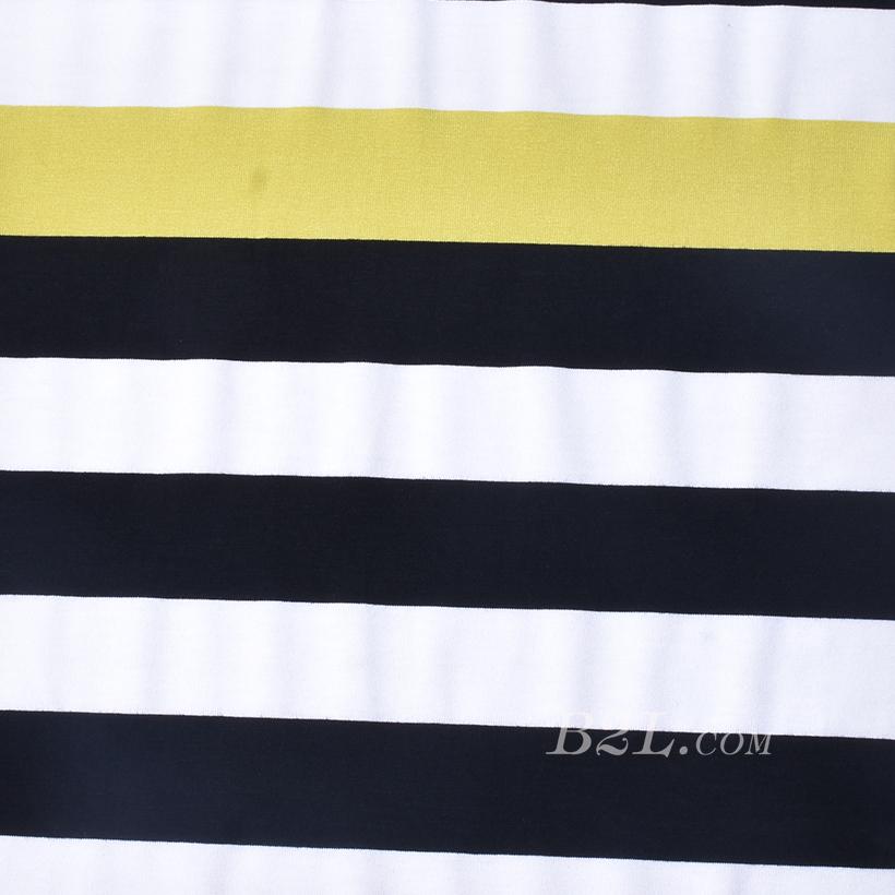 条子 横条 圆机 针织 纬编 T恤 针织衫 连衣裙 棉感 弹力 定位 60312-177