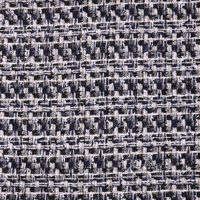 粗花呢 毛呢 粗纺 梭织 色织 提花 无弹 外套 西装 短裤 柔软 粗糙 绒感 女装 春秋冬 70820-10