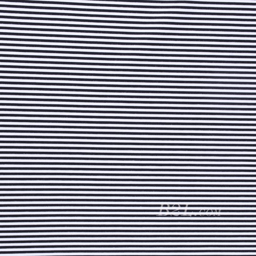 条子 横条 圆机 针织 纬编 T恤 针织衫 连衣裙 弹力 60312-129