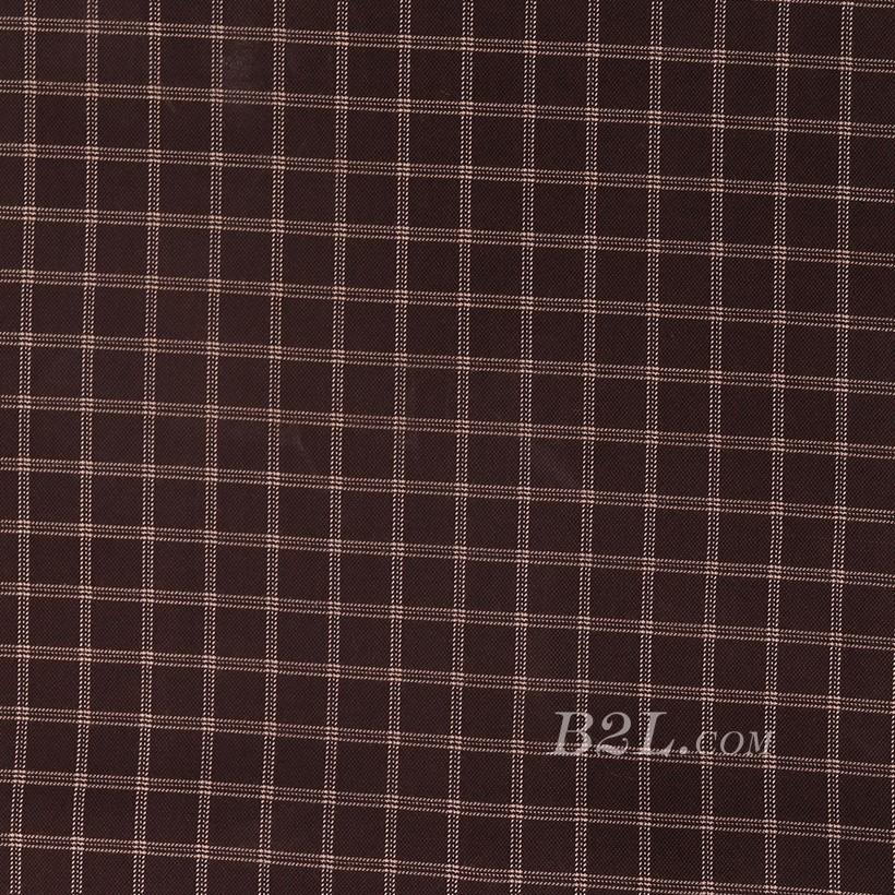 格子 棉感 针织 平纹 外套 衬衫 上衣 70622-25
