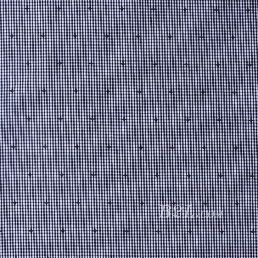 格子梭织色织提花无弹衬衫连衣裙半身裙细腻棉感女装60419-21