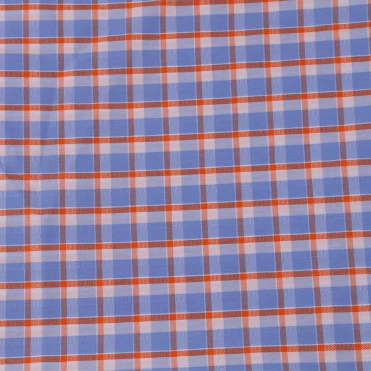 现货格子梭织色织提花低弹休闲时尚风格 衬衫 连衣裙 短裙 棉感 60929-42