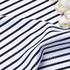 条子 横条 圆机 针织 纬编 T恤 针织衫 连衣裙 棉感 弹力 60312-171