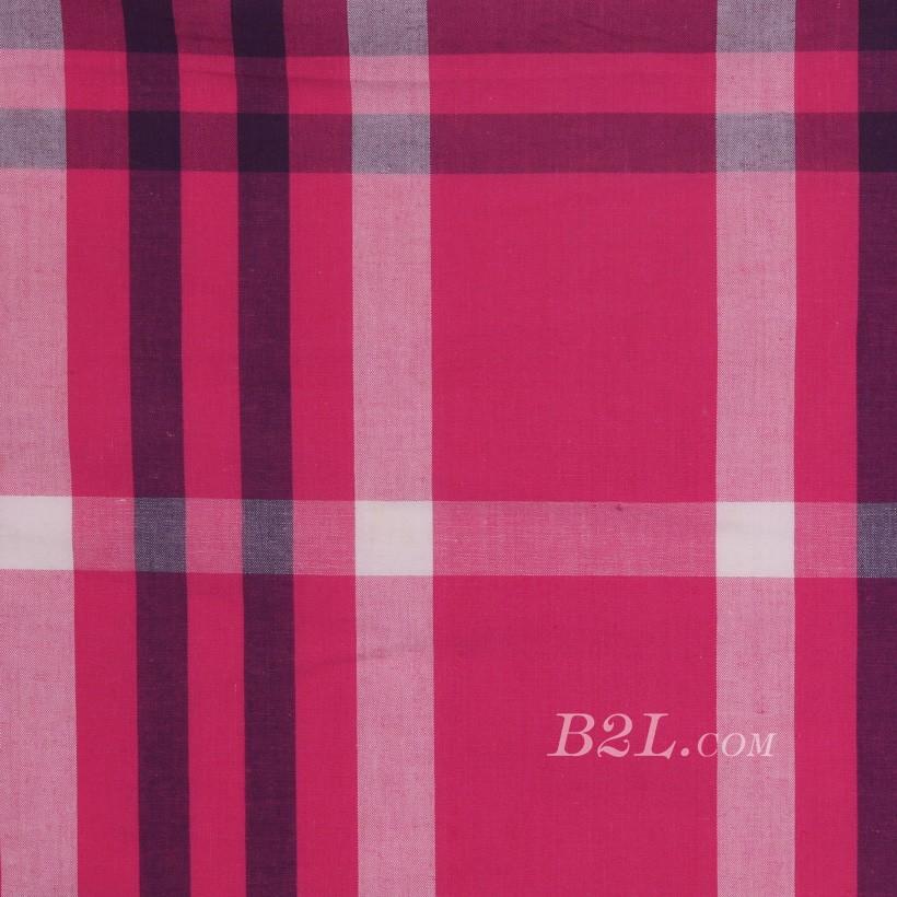 格子 棉感 色织 平纹 外套 衬衫 上衣 70622-52