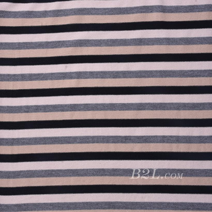 条子 竖条 圆机 针织 纬编 T恤 针织衫 连衣裙 棉感 弹力 60312-108