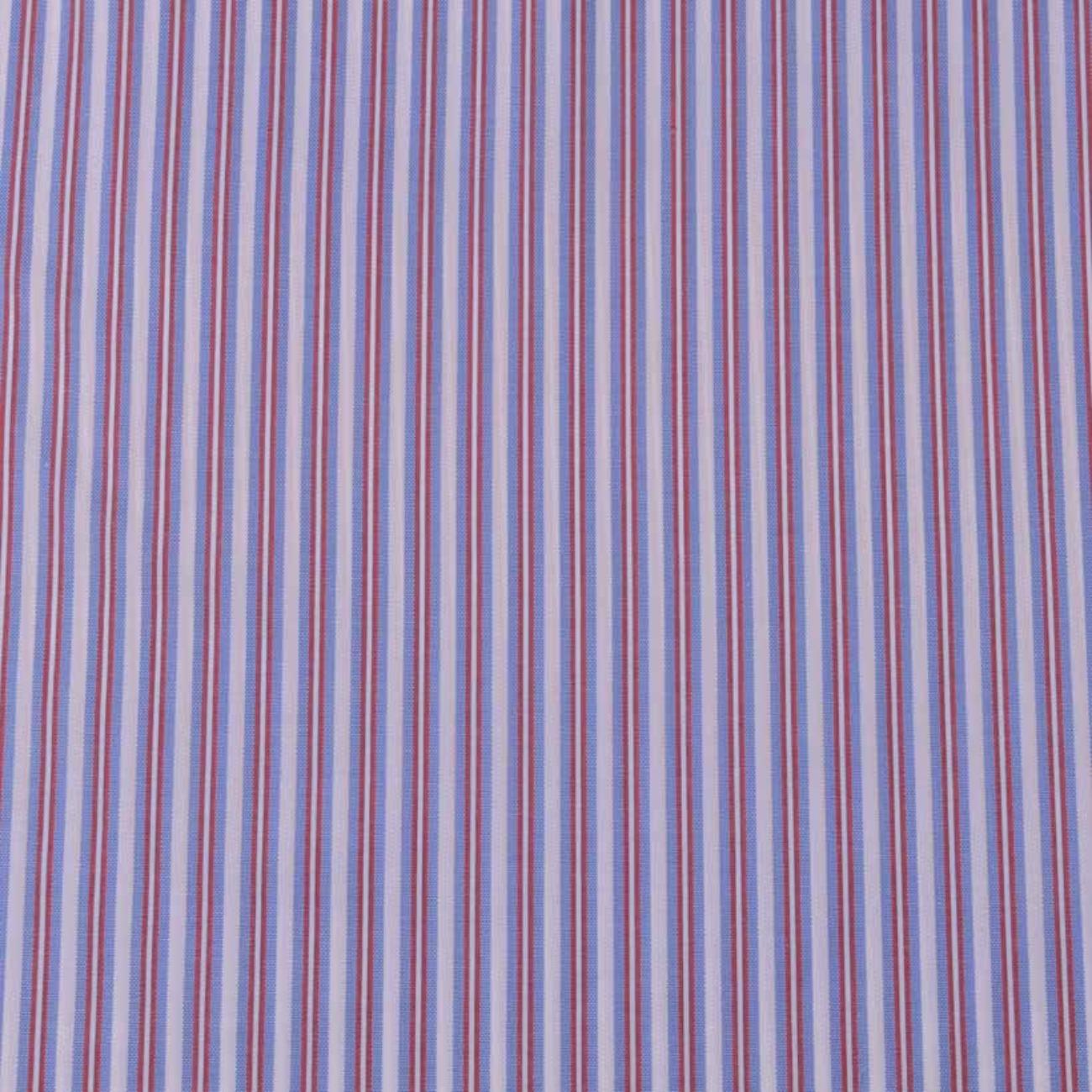 现货条子梭织色织提花低弹休闲时尚风格 衬衫 连衣裙 短裙 棉感 60929-45