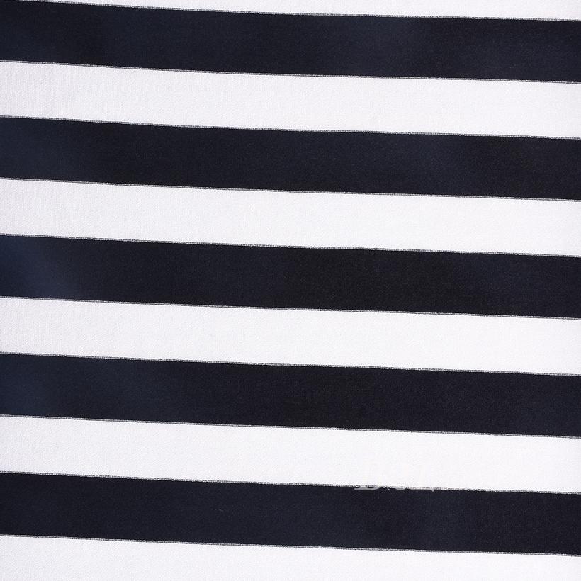 条子 横条 圆机 针织 纬编 T恤 针织衫 连衣裙 棉感 弹力 60312-186