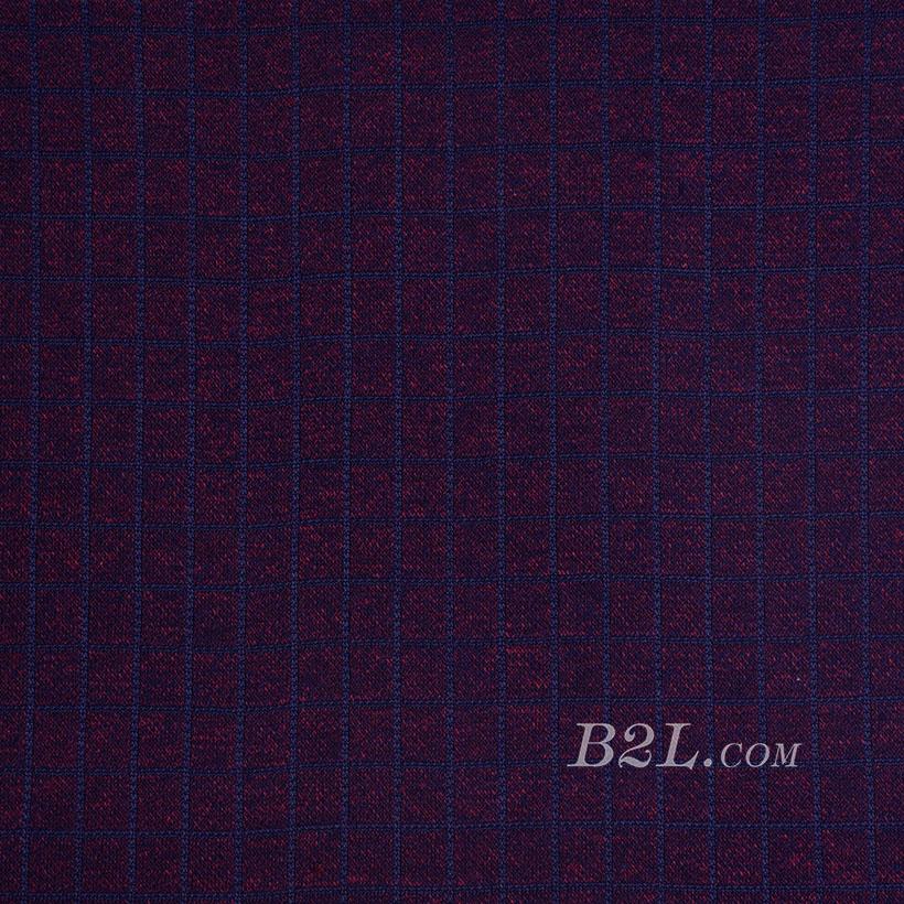 针织 棉感 低弹 纬弹 提花 纬编 细腻 柔软 上衣 春秋 70825-3