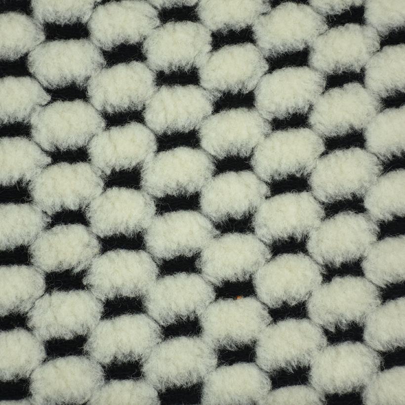 格子 呢料 柔软 羊毛 大衣 外套 女装 60803-31