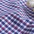 格子梭织色织无弹衬衫领结柔软细腻棉感男装60419-22