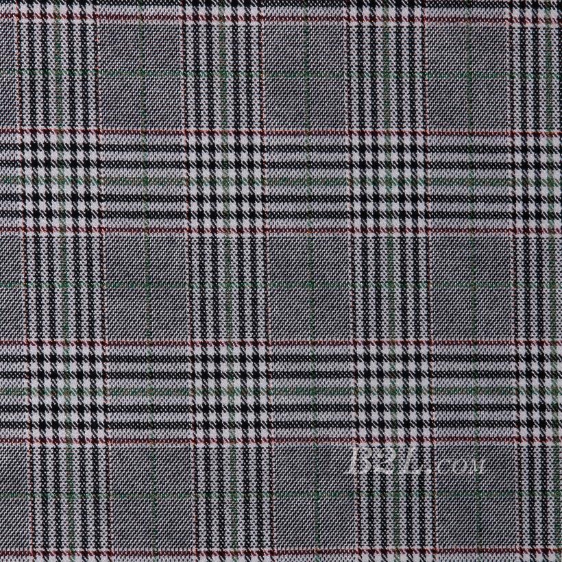 格子 微弹 色织 梭织 春秋冬 西装 外套 半裙 女装 80623-42