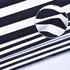 条子 横条 圆机 针织 纬编 T恤 针织衫 连衣裙 棉感 弹力 定位 罗纹60312-66
