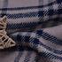 格子 棉感 磨毛 平纹 外套 风衣 上衣 厚 60625-7
