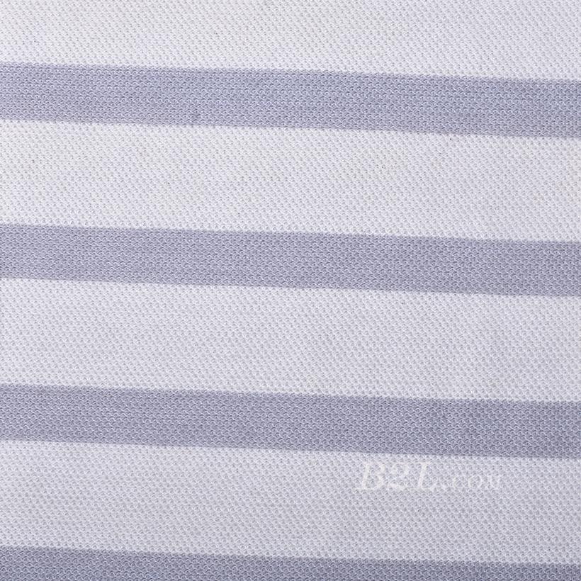 条子 竖条 圆机 针织 纬编 T恤 针织衫 连衣裙 棉感 弹力 60312-105