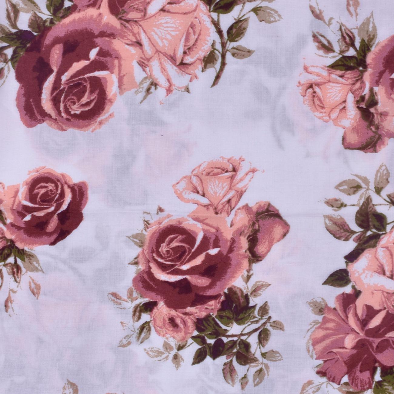 人棉期货花朵梭织印花无弹衬衫连衣裙 短裙 薄 棉感 70522-73