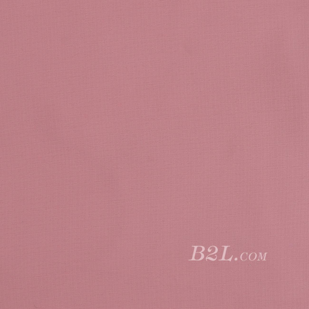 素色平纹梭织染色连衣裙 短裙 衬衫 无弹 春 秋 柔软 薄 70703-9