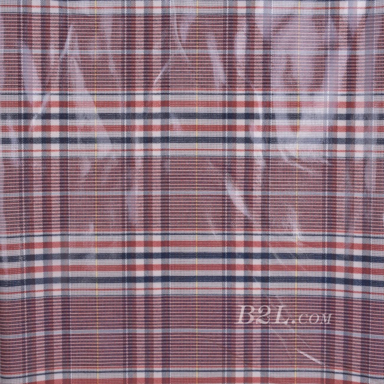 格子 梭织 色织 PU复合 低弹 春秋 大衣 外套 女装 80714-23