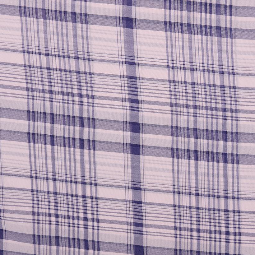 梭织 无弹 色织 全涤 雪纺 柔软 连衣裙 衬衫 70305-30
